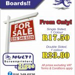 Multi Screenprinters - Estate Agent Boards