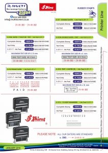 Rubber Stamps 6