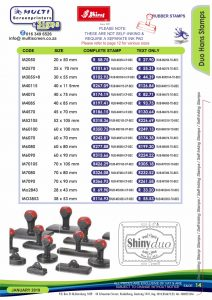 Rubber Stamps 14