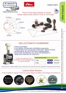 Rubber Stamps 18
