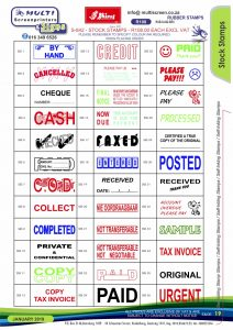 Rubber Stamps 19
