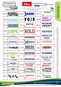 Rubber Stamps 20