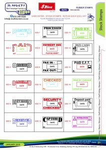 Rubber Stamps 21